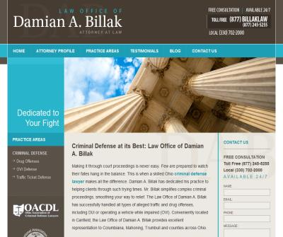The Law Offices of Damian A. Billak Attorney At Law