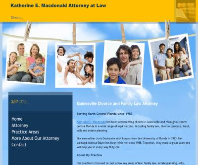 Katherine E. Macdonald Attorney at Law