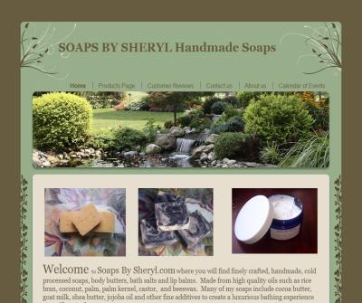 Soaps By Sheryl - Handmade Cold Process Soaps