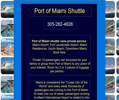 Port of Miami Shuttle