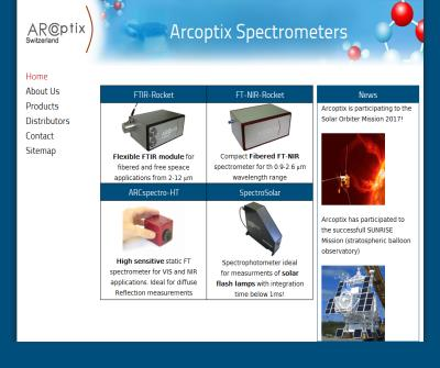 Arcoptix | Fourier Transform Infrared Spectroscopy, FTIR and IR spectrometer