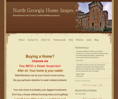 North Georgia Home Inspector