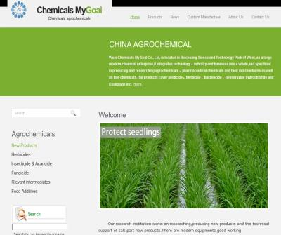 Goalchem.com-The products cover pesticides,herbicides,bactericides etc