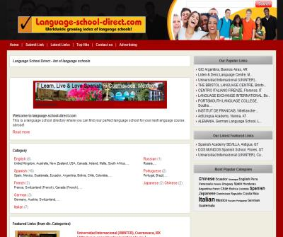 language-school-direct.com - Find your ideal Language School online