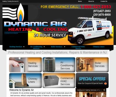 Dynamic Air Heating and Cooling NJ