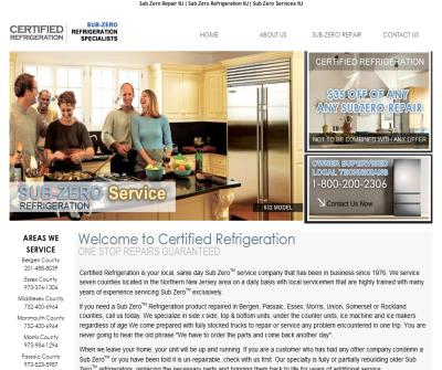 Certified Refrigeration NJ