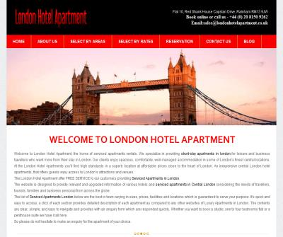 Serviced Apartment London|Short Stay Apartments london|Apartments in London