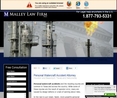 Personal Water Craft accident attorney