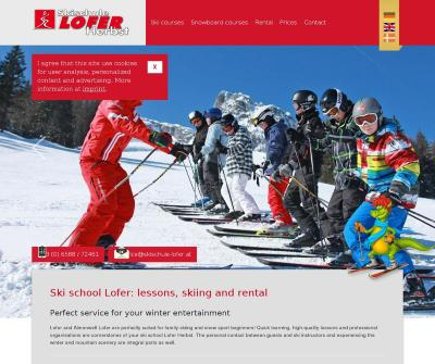 Ski School Lofer, Ski Rental & Ski Courses, Snowboard, Professional Private, Family Skiing Lessons Austria