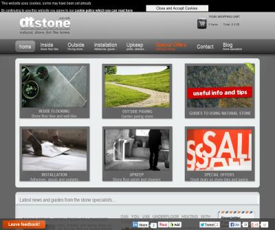 Stone flooring tiles - sandstone, travertine, slate & limestone. Shop online.