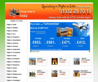 Cheap Ticket to India