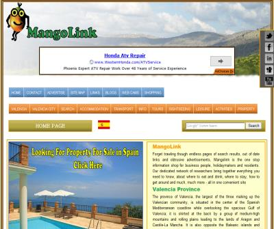 MangoLink: Home Page
