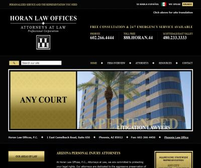 Horan Law Offices, P.C.