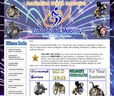 Customized Wheelchairs Rollators & Canes