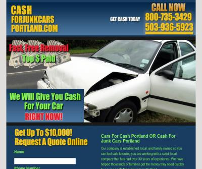 Cash For Cars Portland