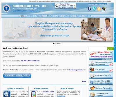 Hospital Management Software, Blood Bank Management Software, Medical Software Company in India