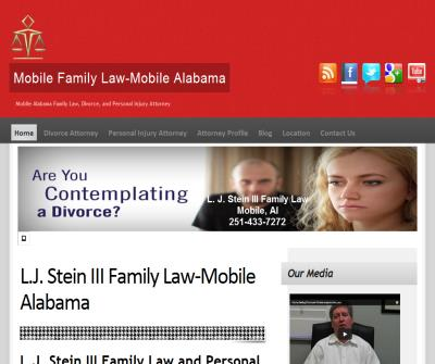 L.J. Stein III Family Law and Personal Injury Attorney
