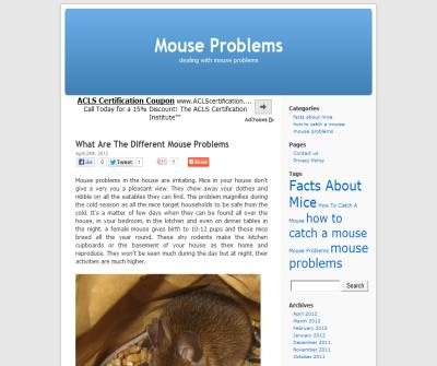 Mouse Problems
