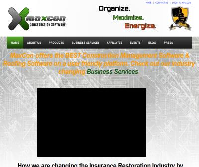 MaxCon | Roofing Software