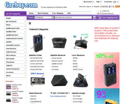 China whosale for Electronics products like set top box, satellite receivers