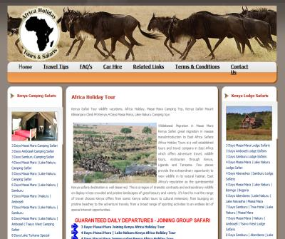 Africa Holiday Tours
