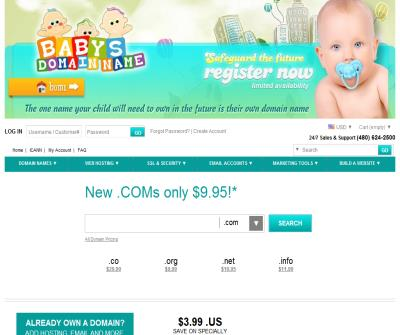 Baby's Domain Name.com