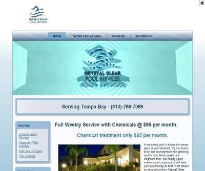 Tampa Pool Cleaning - Crystal Clear Pool Services