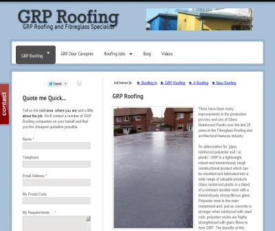 GRP ROOFING HQ | Your centre for GRP Roofing - GRP Roofing
