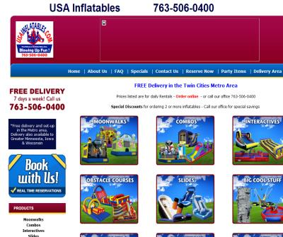 Inflatable and Moonwalk Rentals