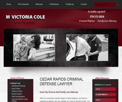 M. Victoria Cole Law Firm P.C.