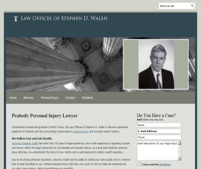 Law Offices of Stephen D. Walsh