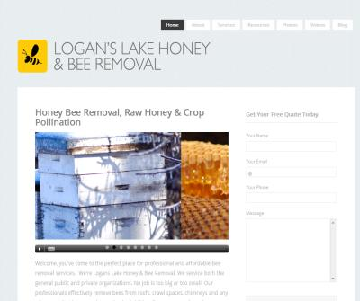Logans Lake Bee Removal