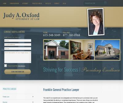 Judy A. Oxford, Attorney at Law