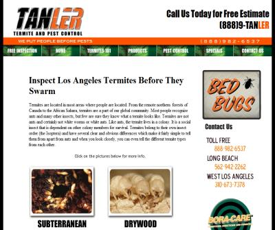 Termite inspection Santa fe springs