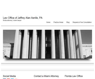 Law Offices of Jeffrey Alan Aenlle, PA