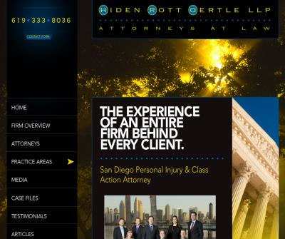 Hiden, Rott & Oertle, LLP Attorneys at Law
