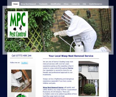 KM Wasp Nest Removal Surrey