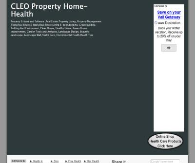 CLEO Property-Home-Health