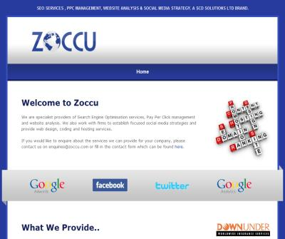 Zoccu - SEO Services, PPC Management and Website Optimisation
