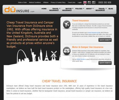 DownUnder Travel Insurance