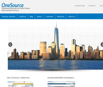 OneSource - Company Information - Sales Lead Generation - Sales Prospecting