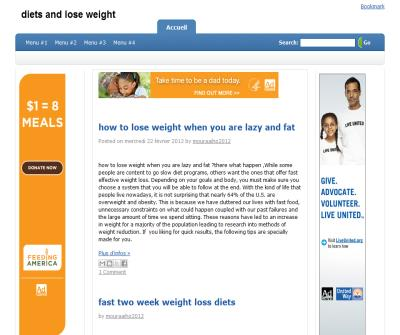 diets and lose weight