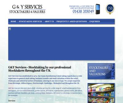 G & Y SERVICES STOCKTAKERS AND VALUERS