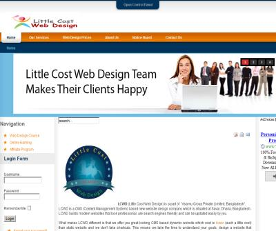 Little Cost Web Design