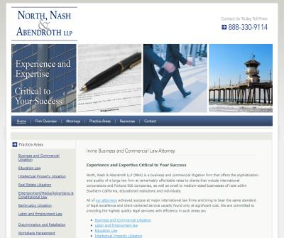 Irvine Business Litigation Attorney