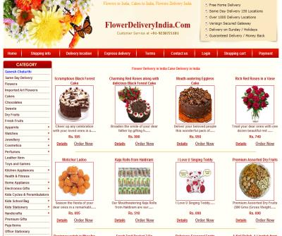 Online Flower Delivery India Gifts Cakes Delivery