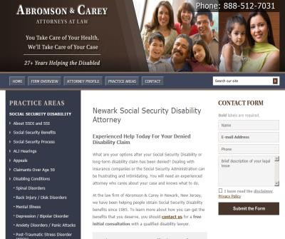 New Jersey Long Term Disabilty lawyer