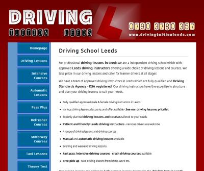 Driving Tuition Leeds