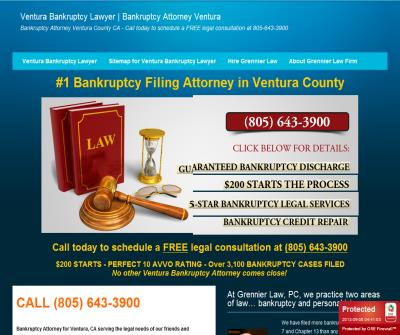 Grennier Law, PC is the #1 Bankruptcy Attorney in Ventura County