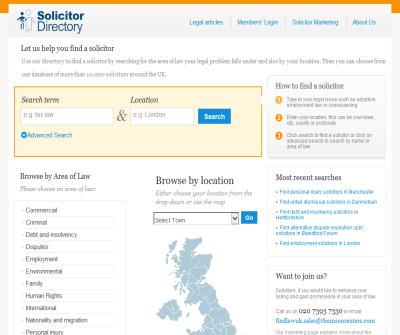 FindLaw UK Solicitor Directory